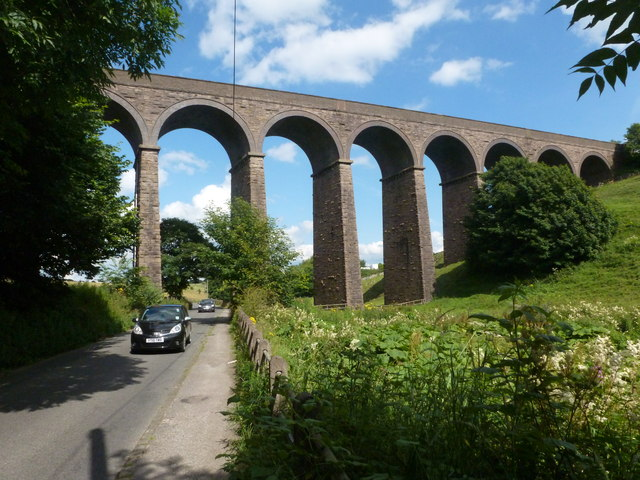 Picturesque viaduct south of Buxton (credit: Graham Hogg)